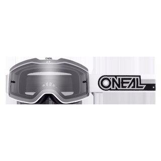 Oneal B-20 Briller Hvit/Sort - grå linse