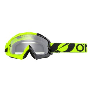 Oneal B-10 Glasögon black/neon yellow - clear