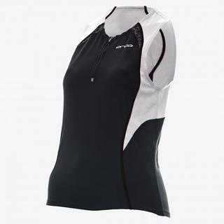 Orca Core Dame Tri Jersey Sort/Hvit