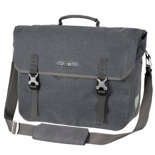 Ortlieb Commuter Bag Two Urban Sideveske Grå (Pepper), 20 L