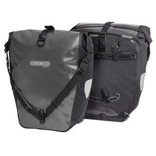 Ortlieb Back-Roller Classic Sidevesker 2 x 20L, Asphalt - Black