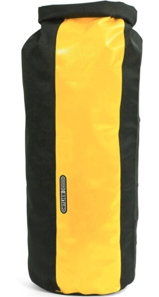 Ortlieb Dry Bag 490 22L Packpåse Svart/Gul, 22L