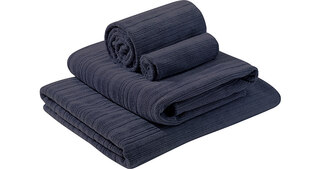 PackTowl Luxe handduk Blå, Til ansikt, hender og kropp!
