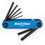 Park Tool AWS-10C Unbrakoverktøy 1.5, 2, 2.5, 3, 4, 5, 6 mm unbrako