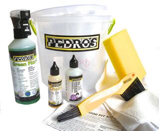 Pedros Mini Pit Kit 3.0 Komplett paket med väsentliga produkter!
