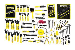 Pedros Master Bench Tool Verktygssats Innehåller 121 professionella verktyg!