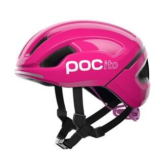 POC POCito Omne Spin Sykkelhjelm Barn Fluorescent Pink, Str. XS