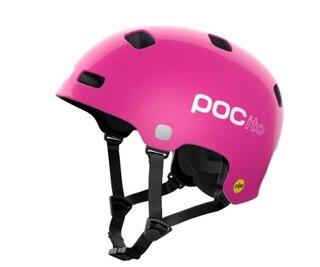 POC Crane Pocito MIPS Hjelm Fluorescent Pink, Str. M/L