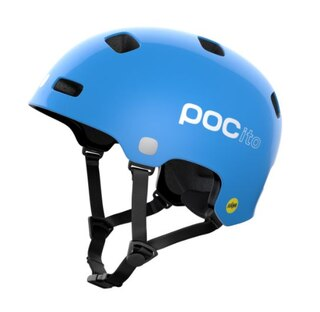 POC Crane Pocito MIPS Hjelm Fluorescent Blue, Str. XS/M