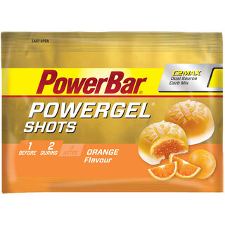 PowerBar GelShots Orange Appelsin