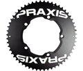 Praxis TT Drevsett Alu, 2x, 10/11s, 130 BCD, LevaTime®