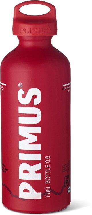 Primus 0,6L Fuel Bottle u/Brensel Rød