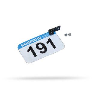 PRO Nummerholder Til Sete Sort, For startnummer