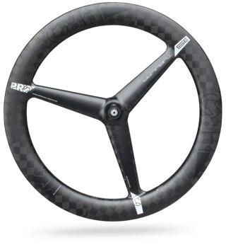 PRO Textreme 3-Spoke Pariser Framhjul Svart, kolfiber, 765g, Bred