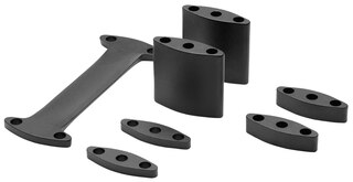 Profile Design Aeria Riser Kit Sort, 45-60 mm