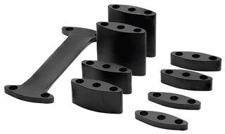 Profile Design Aeria Riser Kit Sort, 65-80 mm