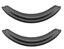 Profile Design Ergo/Race Ultra Pad Sett Sort, 10 mm