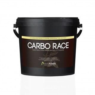 PurePower Carbo Race Drikk Hylleblomst, 3 Kg, Med Electrolytter