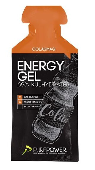 PurePower Energigel 40g, Cola Smak