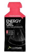 PurePower Energigel 40g, Vannmelon Smak