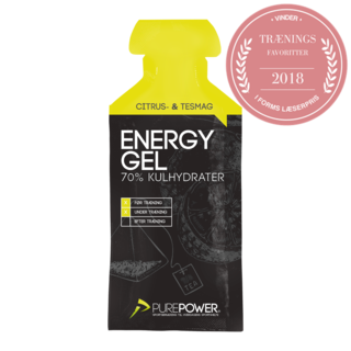 PurePower Energigel 40g, Sitron Te Smak
