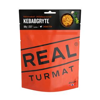 Real Turmat Kebabgryte 500g Middag Sterk kylling og mye smak
