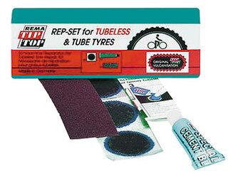 Tip Top Tubeless Repair Kit Lappesaker 3 Lapper, Lim, Sandpapir
