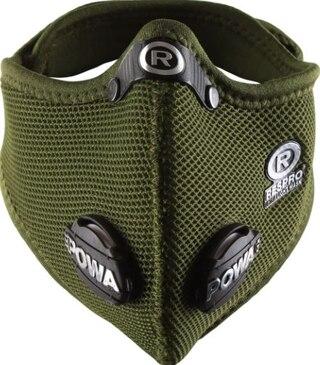 Respro Ultralight Mask Olivgrön, Str. M