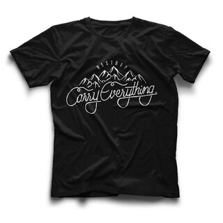 Restrap Carryeverything T-Skjorte Sort