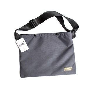 Restrap Musette Bag Axelväska Grå