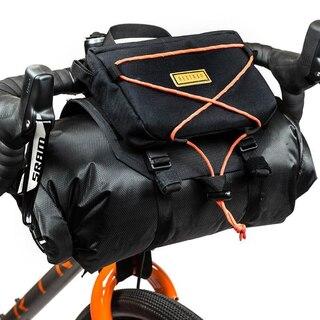 Restrap Bar Bag Holster + Dry Bag 14L Sort, 14L, 550g