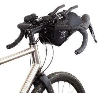Restrap Race Aero Bar Bag Svart, 17x36x16 cm, 7 liter, 260 gram