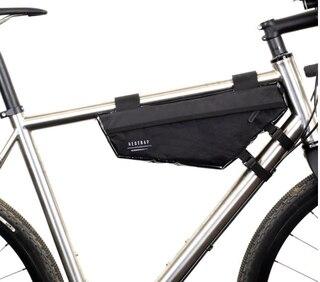 Restrap Race Frame Bag Svart, 37x10x22x18x6 cm, 198 gram