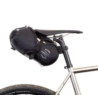 Restrap Race Saddle Bag Svart, 15x30 cm, 7 liter, 234 gram