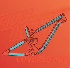 RideWrap Covered Fulldemper Kit Matt Transparent