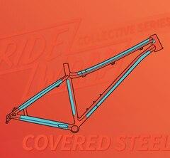 RideWrap Covered Stål MTB Kit Matt Transparent