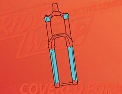 RideWrap Covered Gaffel Kit Gloss Transparent