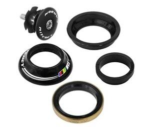 Ritchey Upper WCS 12.4mm Top Cap Sort, Semi integrert, Top Cap, 1 1/8''