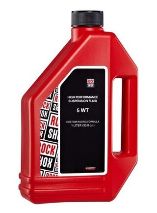 RockShox 5wt Demperolje 1 Liter