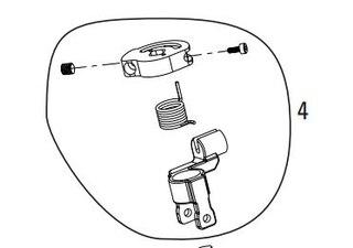 Rock Shox Remote Cam Kit/Top Pull För Ario