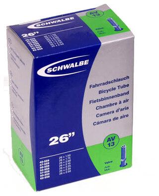 Schwalbe AV13 MTB AV-slang Butyl, 26 x 1.5-2.5, Bilventil 40 mm