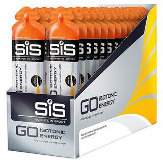 SIS GO Isotonic Appelsin Energigel ESKE Appelsin, 30 x 60 ml