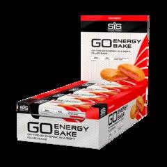 SiS GO Energy Bake Energibar - ESKE Jordbær, 12 x 50 g