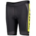Scott RC Pro Junior Shorts Sort/Gul, Med padding