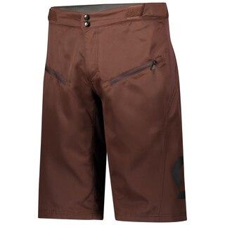Scott Trail Vertic Shorts m/Pad Rødbrun, Str. M-XL