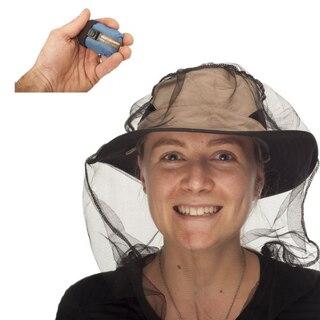 Sea To Summit Nano myggnät för huvudet Optimal visibilitet, 80 hål/cm², 11g
