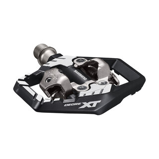 Shimano XT M8120 Pedaler Sort/sølv, SPD, 408 g. per sett