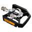 Shimano XT T8000 Trekking Kombipedaler Sort/Sølv, SPD, 392 gram, inkl. klosser