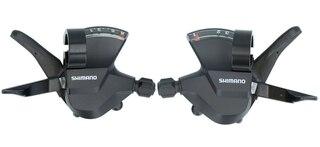 Shimano Altus SL-M315 3x8s Växelreglage Sort, 3x8-Delat, höger/vänster