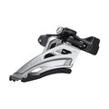 Shimano Deore FD-M4100-M Framgir 2x10, 34,9 mm, Side Swing, Front Pull